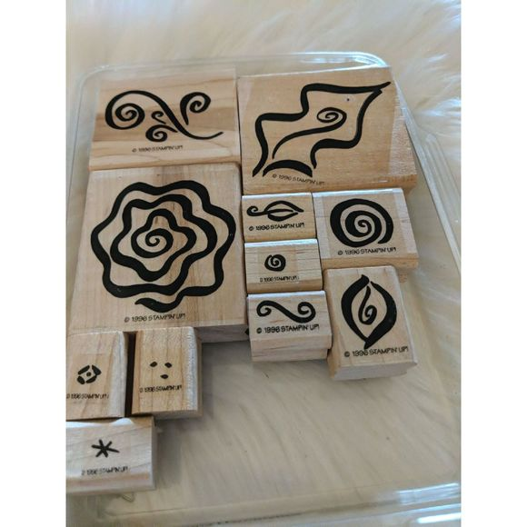 STAMPIN' UP! Fabulous Flourishes Wooden